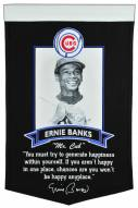 Chicago Cubs Ernie Banks Icon Collection Banner