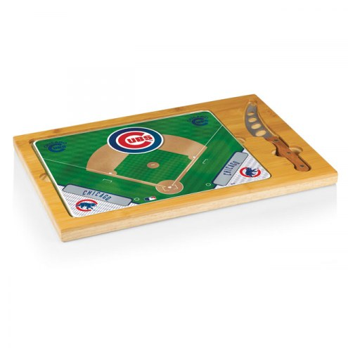 Chicago Cubs Icon Cutting Board