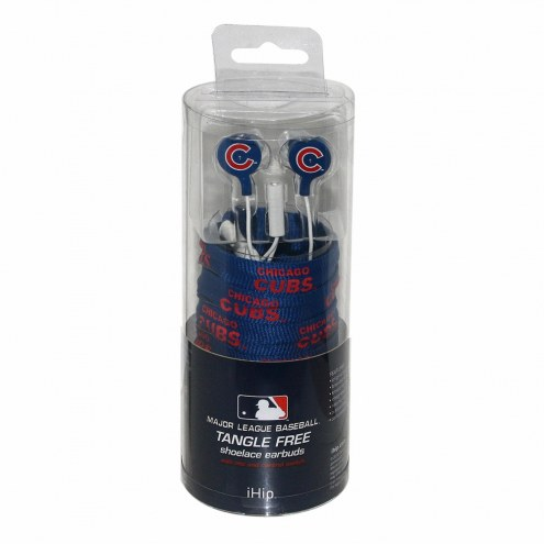 Chicago Cubs iHip Shoelace Earbuds
