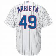 Chicago Cubs Jake Arrieta Replica Home Baseball Jersey