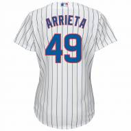 Chicago Cubs Jake Arrieta Women's Replica Home Baseball Jersey