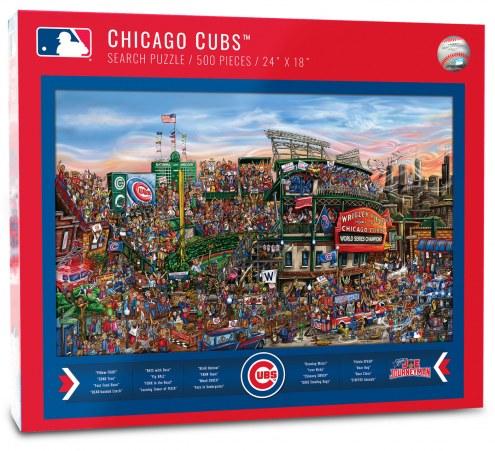 Chicago Cubs Joe Journeyman Puzzle