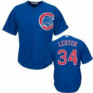 Chicago Cubs Jon Lester Replica Royal Baseball Jersey