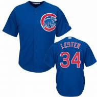 Chicago Cubs Jon Lester Replica Royal Baseball Jersey