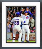 Chicago Cubs Jorge Soler & Anthony Rizzo Action Framed Photo