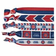 Chicago Cubs Knotted Hair Tie