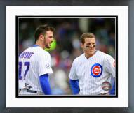 Chicago Cubs Kris Bryant & Anthony Rizzo Action Framed Photo