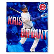 Chicago Cubs Kris Bryant Silk Touch Blanket