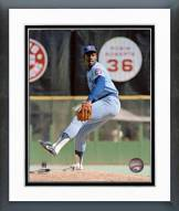 Chicago Cubs Lee Smith Action Framed Photo