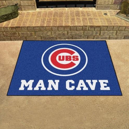 Chicago Cubs Man Cave All-Star Rug