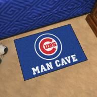 Chicago Cubs Man Cave Starter Mat