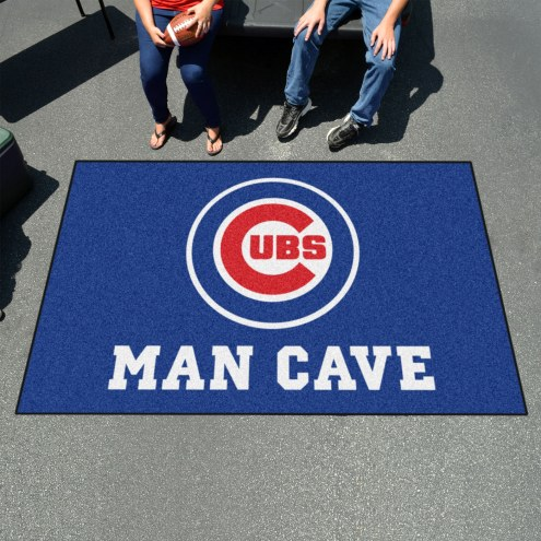 Chicago Cubs Man Cave Ulti-Mat Rug