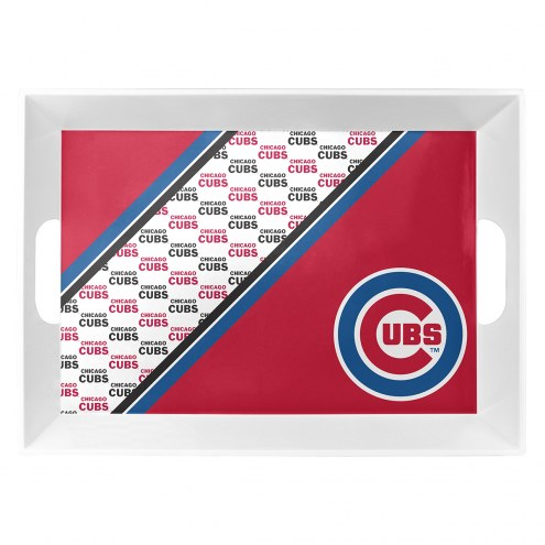 Chicago Cubs Melamine Serving Tray