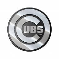 Chicago Cubs Metal Car Emblem