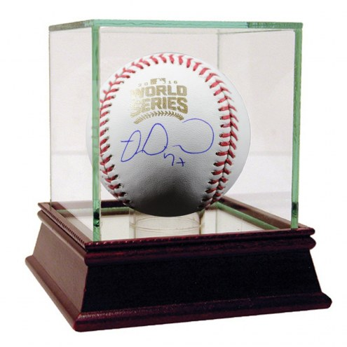 Chicago Cubs Miguel Montero Signed 2016 World Series Baseball