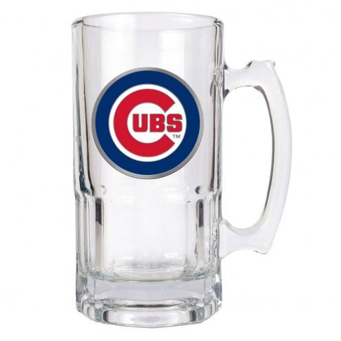 Chicago Cubs MLB 1 Liter Glass Macho Mug