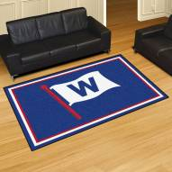 Chicago Cubs MLB 5' x 8' Area Rug