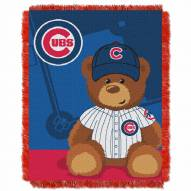 Chicago Cubs MLB Baby Blanket
