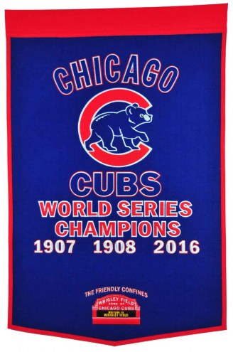 Winning Streak Chicago Cubs Major League Baseball Dynasty Banner
