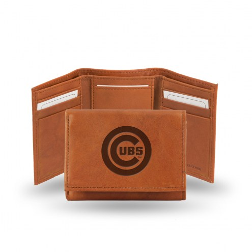 Chicago Cubs MLB Embossed Tri-Fold Wallet