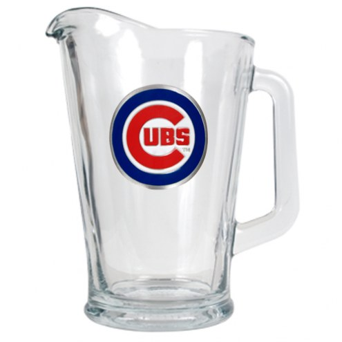 Chicago Cubs MLB 60 Oz. Glass Pitcher