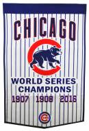 Chicago Cubs MLB Pinstripe Dynasty Banner