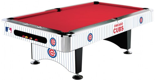 Chicago Cubs MLB Pool Table