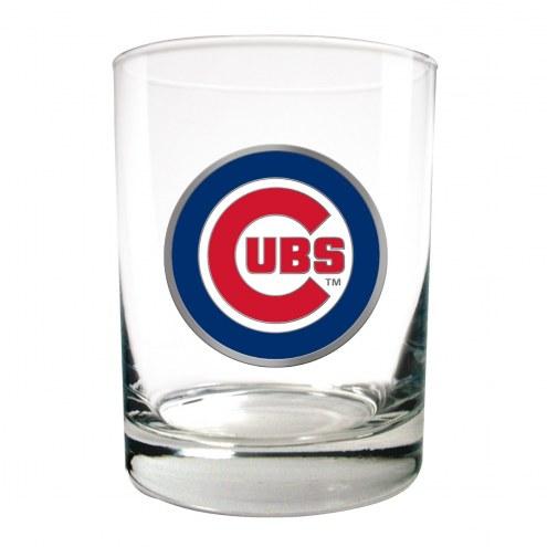 Chicago Cubs MLB 2-Piece 14 Oz. Rocks Glass Set