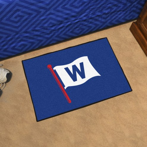 Chicago Cubs MLB Starter Rug