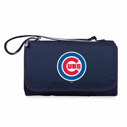 Chicago Cubs Navy Blanket Tote