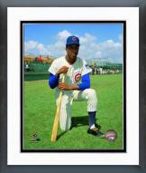 Chicago Cubs Oscar Gamble posed Framed Photo