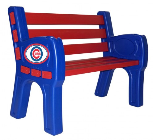 Chicago Cubs Park Bench