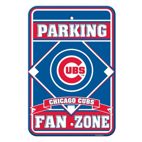Chicago Cubs Parking Sign