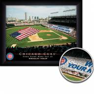 Chicago Cubs 11 x 14 Personalized Framed Stadium Print