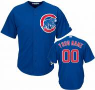 Chicago Cubs Personalized Replica Royal Alternate Baseball Jersey