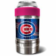 Chicago Cubs Pink 12 oz. Locker Vacuum Insulated Can Holder