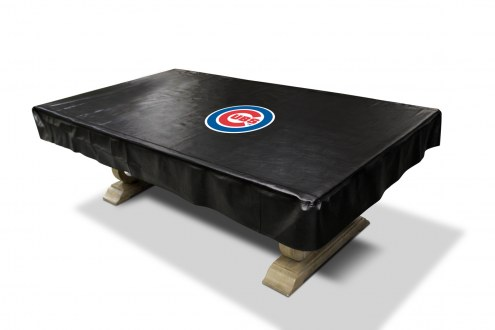 Chicago Cubs MLB Deluxe Pool Table Cover