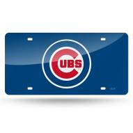 Chicago Cubs Laser Cut License Plate