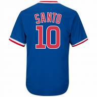 Chicago Cubs Ron Santo Cooperstown Royal Replica Baseball Jersey