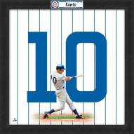 Chicago Cubs Ron Santo Uniframe Framed Jersey Photo