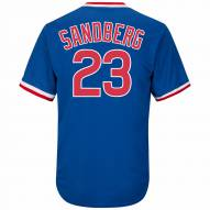 Chicago Cubs Ryne Sandberg Cooperstown Royal Replica Baseball Jersey