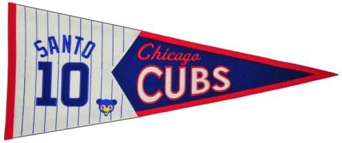 Chicago Cubs Santo Legends Pennant