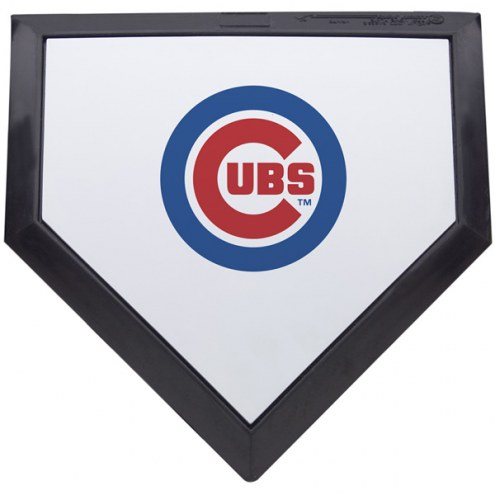 Chicago Cubs Schutt MLB Mini Home Plate