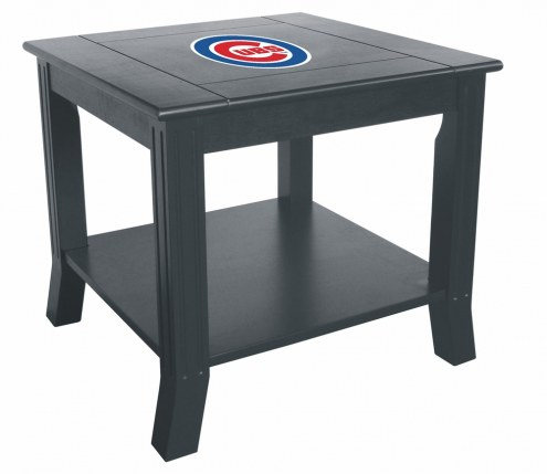Chicago Cubs Side Table