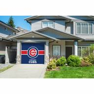 Chicago Cubs Single Garage Door Cover