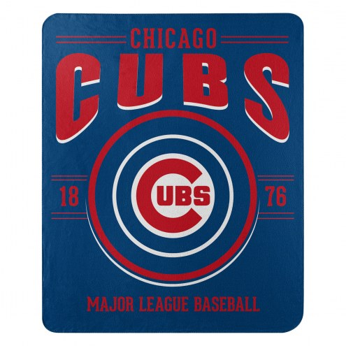 Chicago Cubs Southpaw Fleece Blanket
