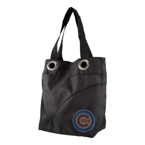 Chicago Cubs Sport Noir Sheen Tote