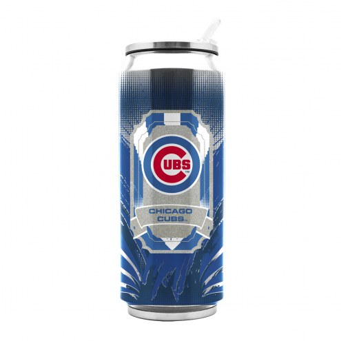 Chicago Cubs Stainless Steel Thermo Can