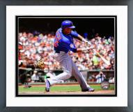Chicago Cubs Starlin Castro Action Framed Photo