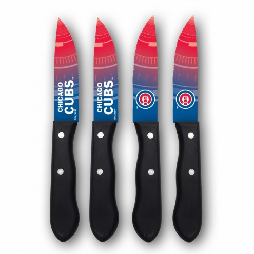 Chicago Cubs Steak Knives